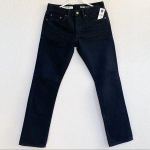 Gap 1969 Slim Black Jeans